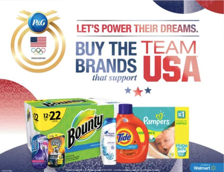 buy the brands P&G
