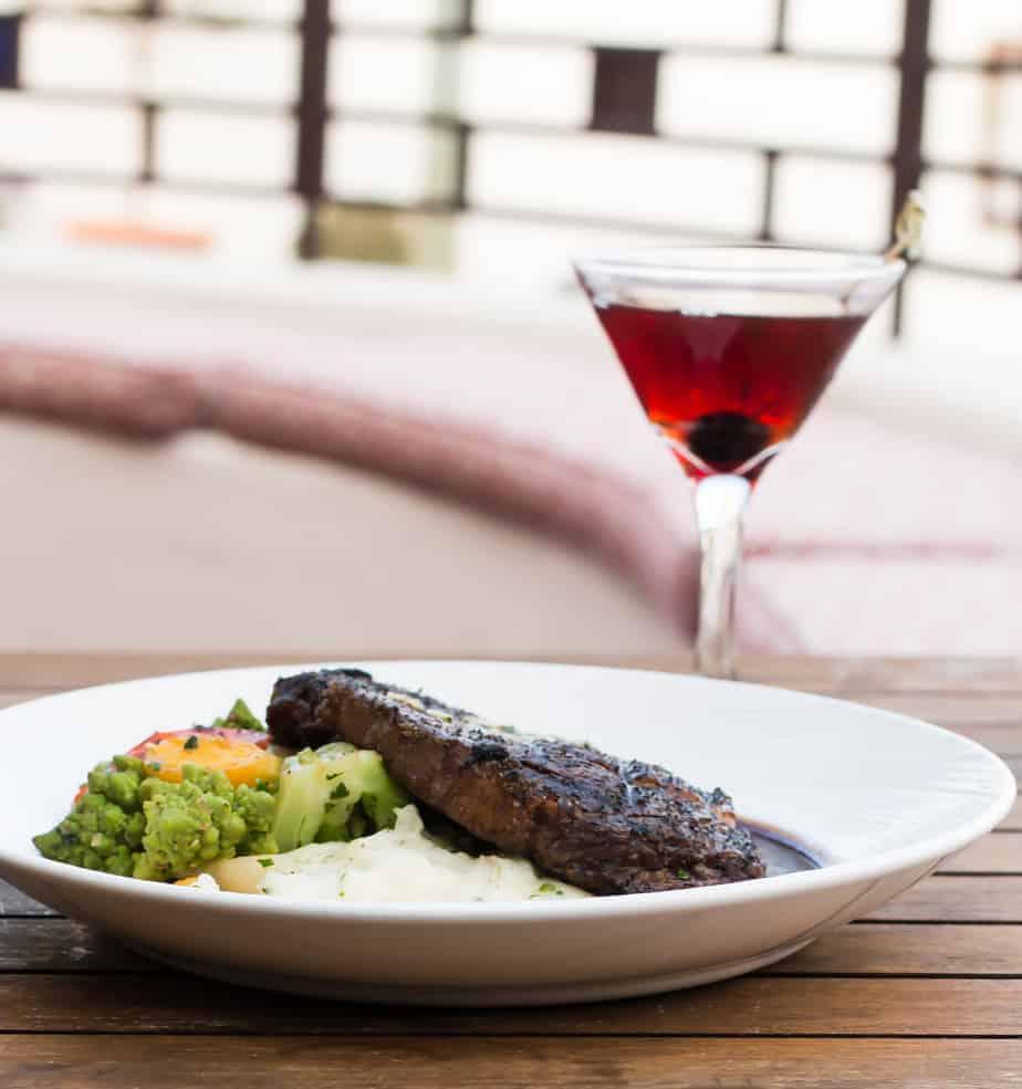 jacks restaurant lounge portola hotel Certified Angus Beef Rib Eye Steak