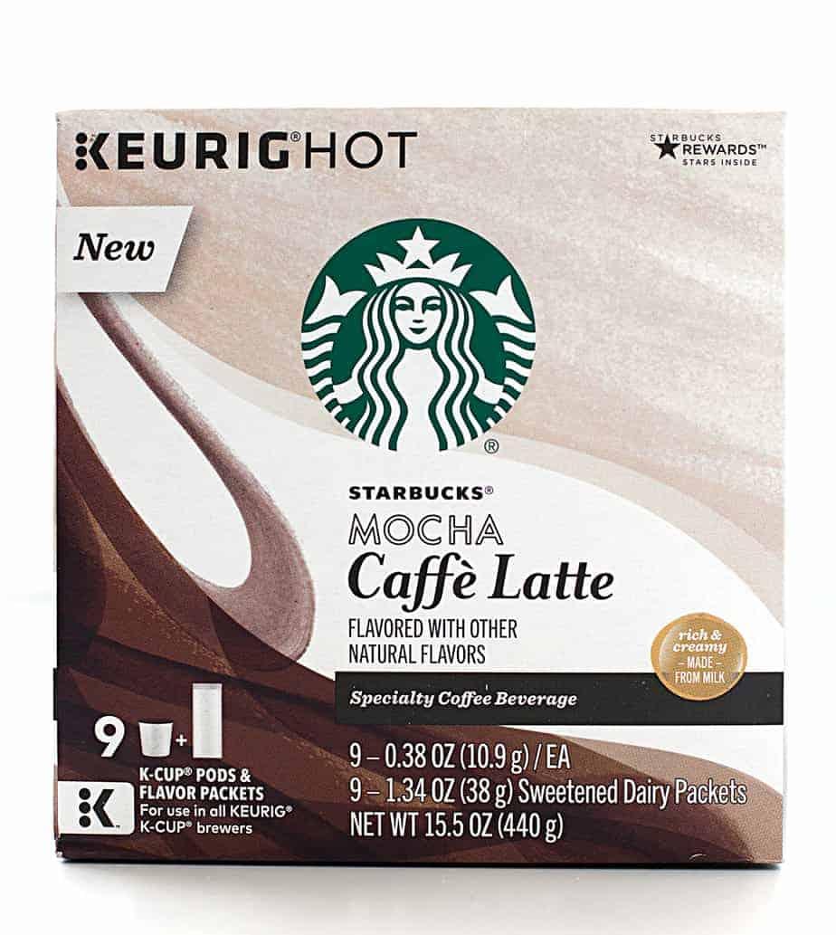 Starbucks Caffe Latte K Cup Pods My Morning Celebration