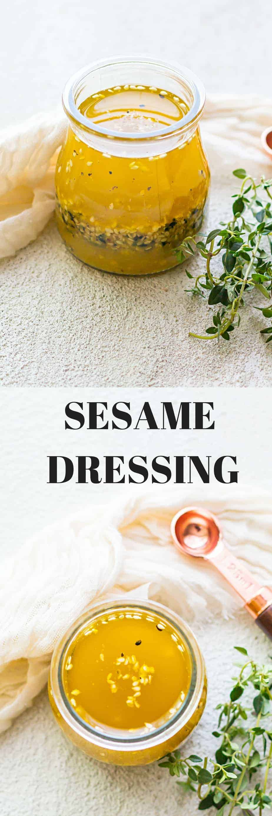 SESAME DRESSING RECIPE