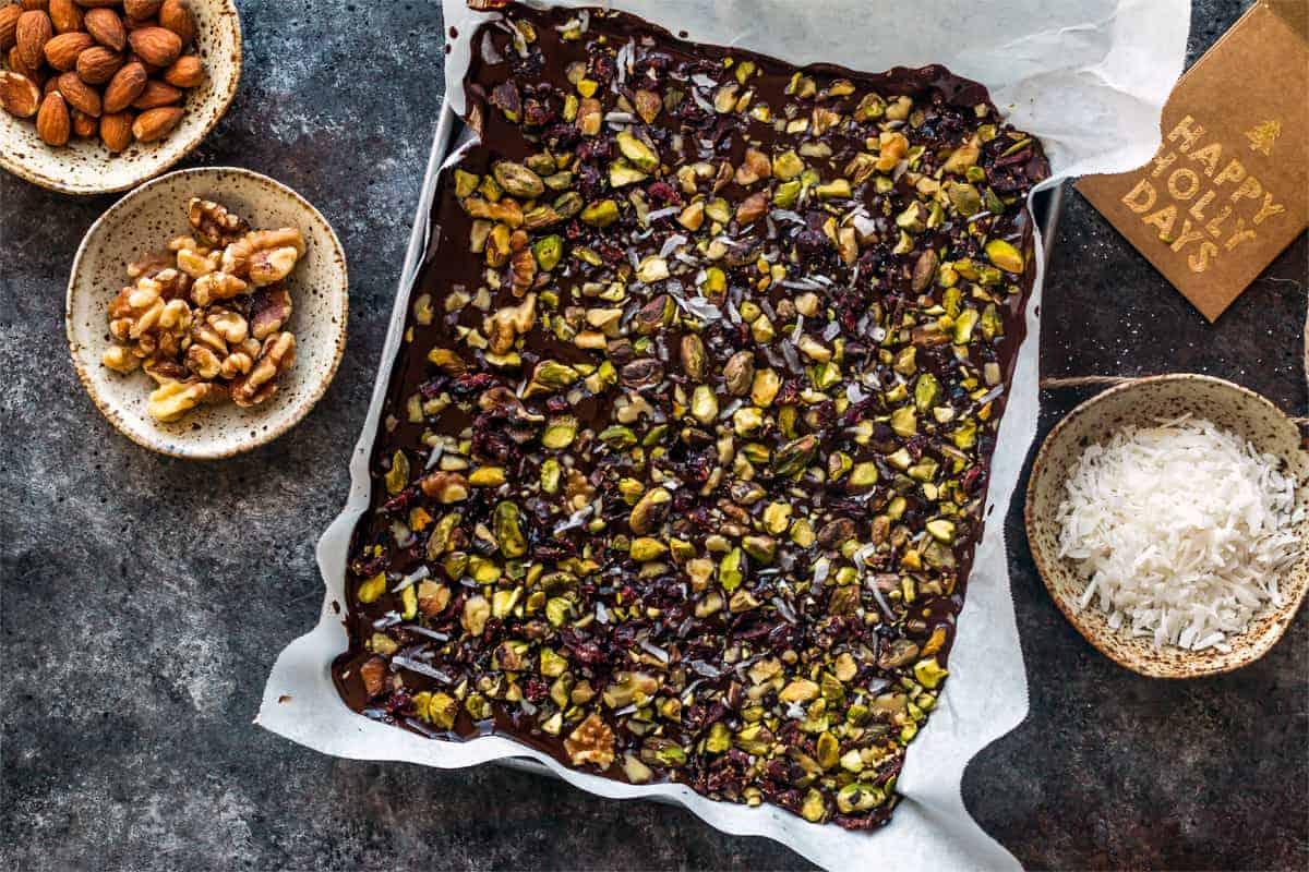 sugar free chocolate almond bark recipe