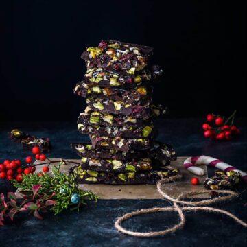 chocolate almond bark recipe