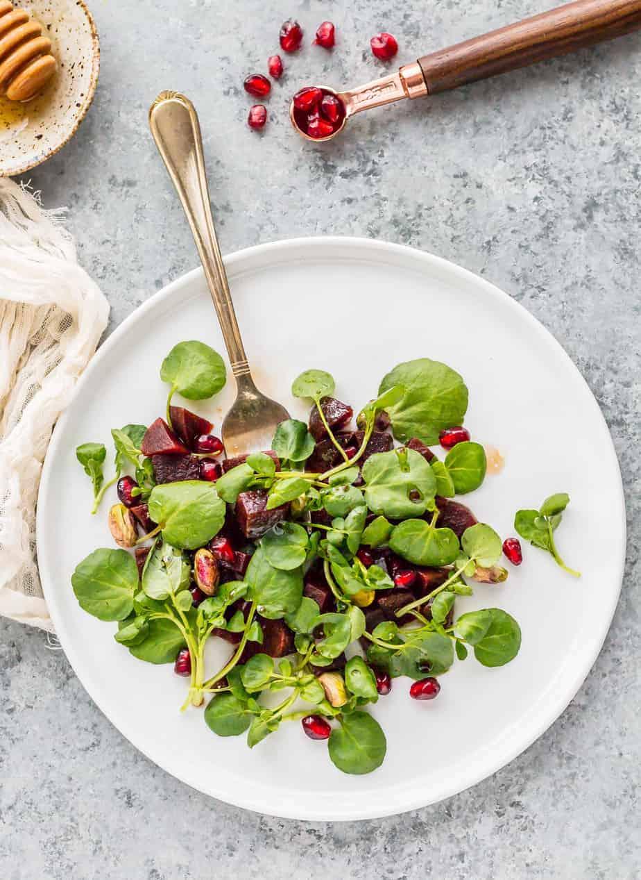 watercress beet salad recipe