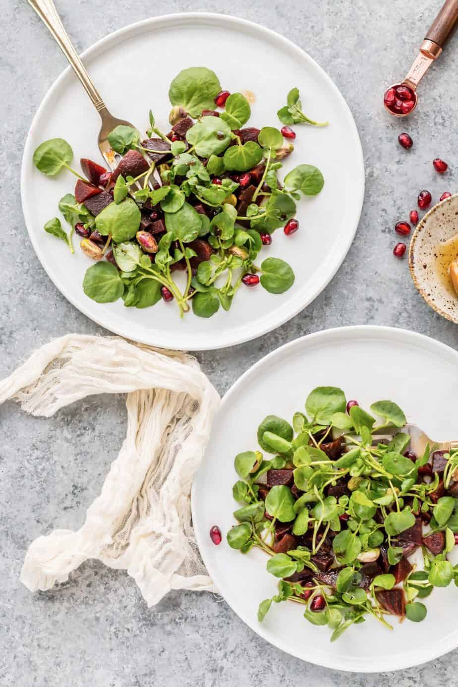 watercress beet salad recipe