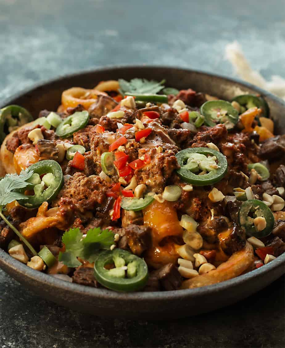 Loaded Fries Korean Beef Style Steak