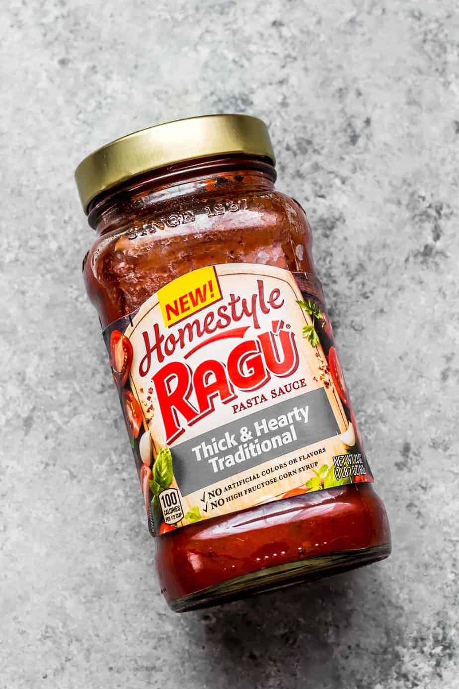 ragu homestyle pasta sauce