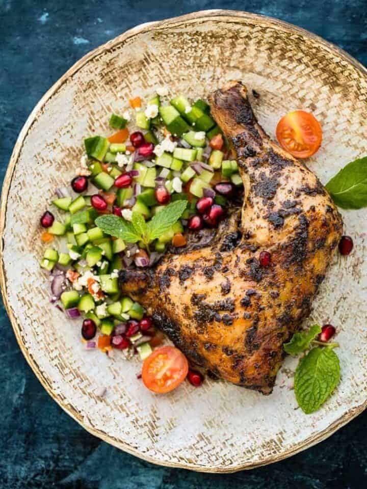 Easy Recipe Baked Chicken with Sumac Spice