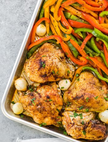 easy baked chicken thighs