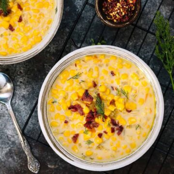 slow cooker recipes creamy corn chowder