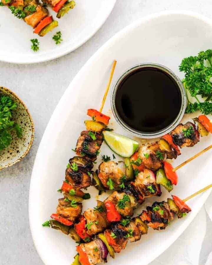 best chicken kabob recipe grilling ideas