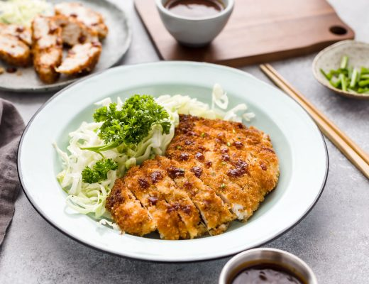 panko breaded chicken Katsu Japanese recipes