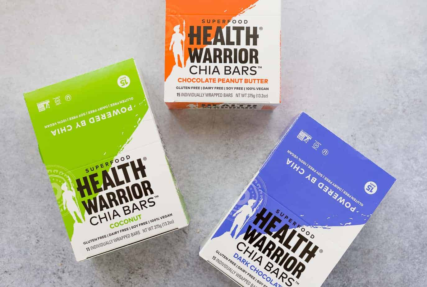 Superfood Health Warrior Chia Bars