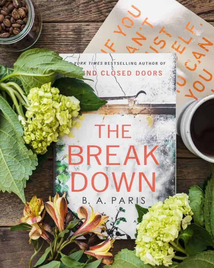 The Breakdown by B. A. Paris was named one of the most anticipated thriller novels of 2017 by Bustle.