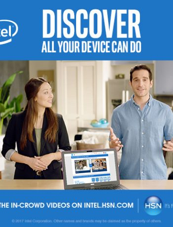 THE IN-CROWD on HSN at INTEL.HSN.COM is your connection to those products, a relatable resource for all-things Intel. An engaging quiz and video series within the site will walk you through different Intel-based devices and keep you in-the-know, helping you identify which specific features and products best fit your needs