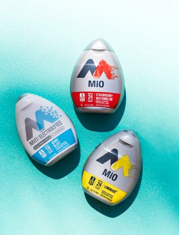 MiO water enhancer fits with your on-the-go lifestyle.