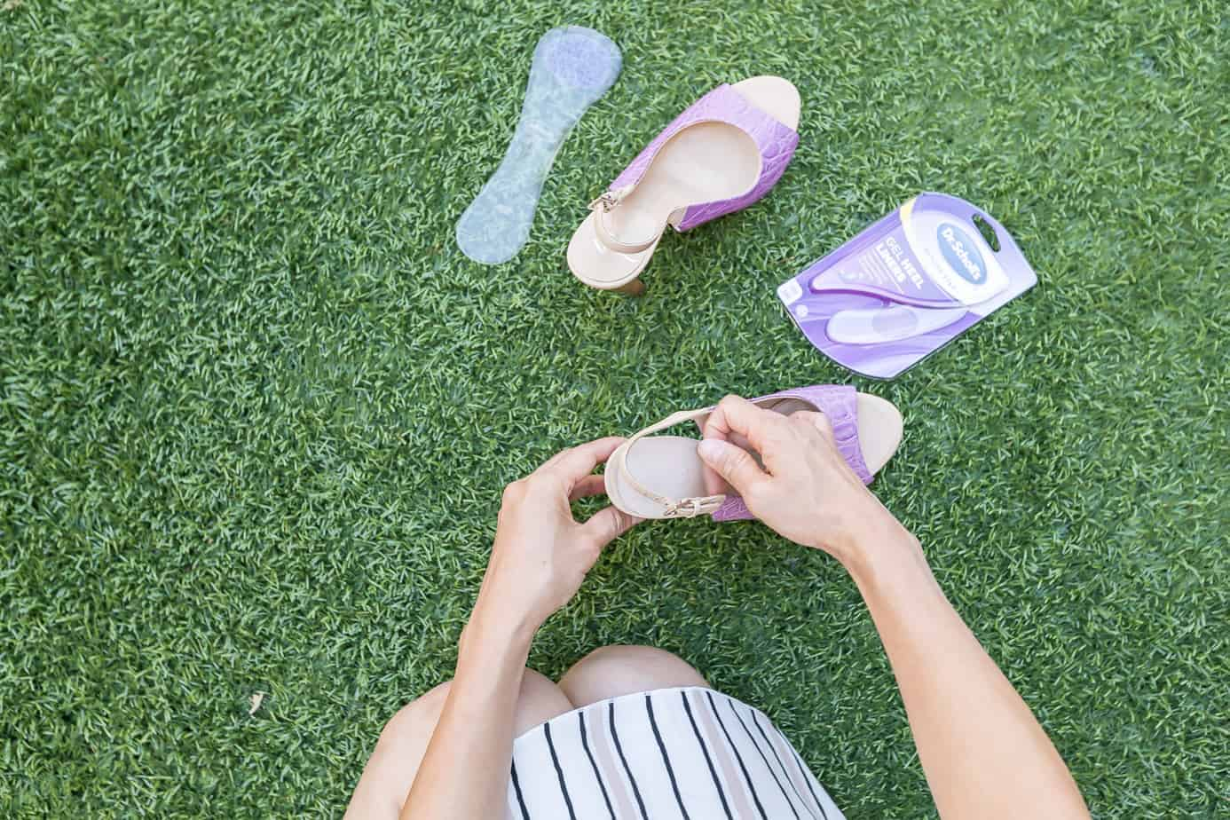 All-Day Comfort with Dr. Scholl's® Stylish Step™ High Heel Relief insoles
