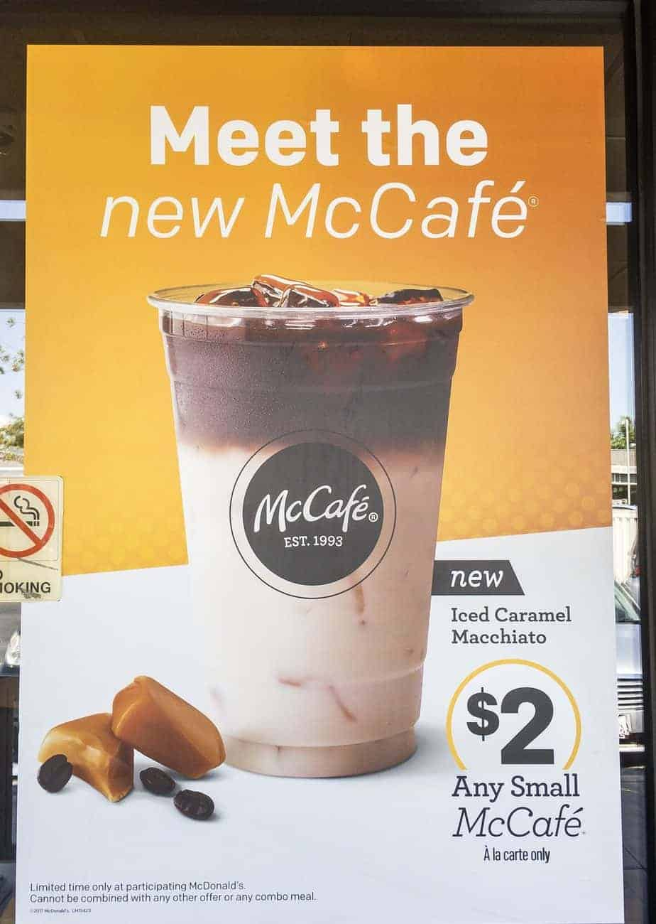 McCafé coffee