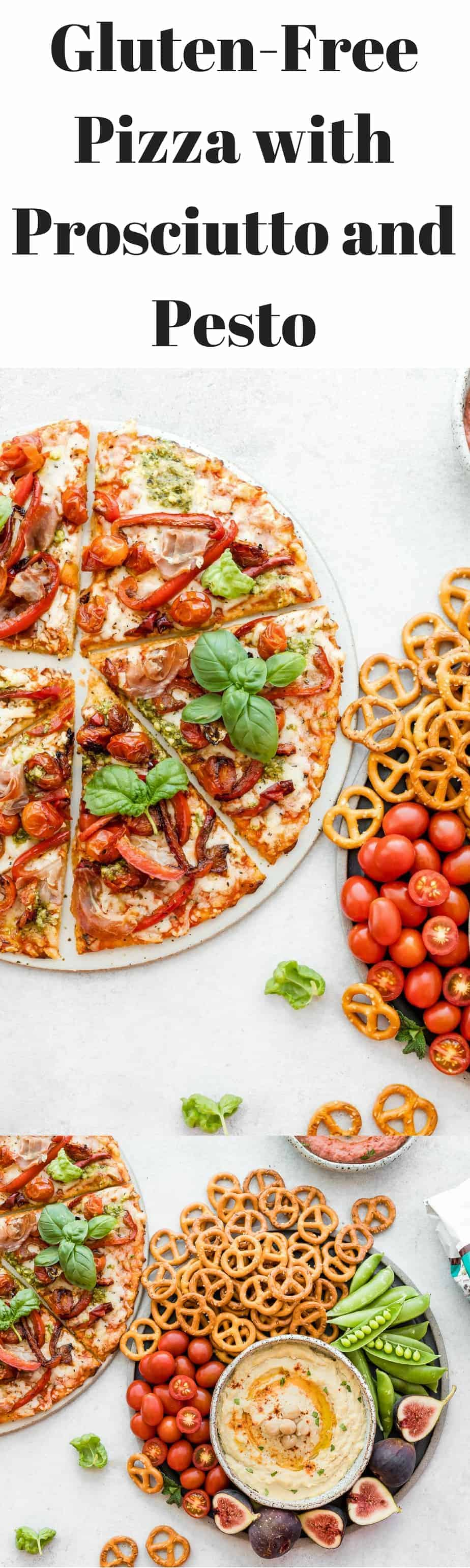 3 delicious homemade recipes that are perfect for those who are living a gluten-free lifestyle: Chickpeas Hummus, Beet Hummus and a Gluten-Free Pizza with Prosciutto and Pesto.