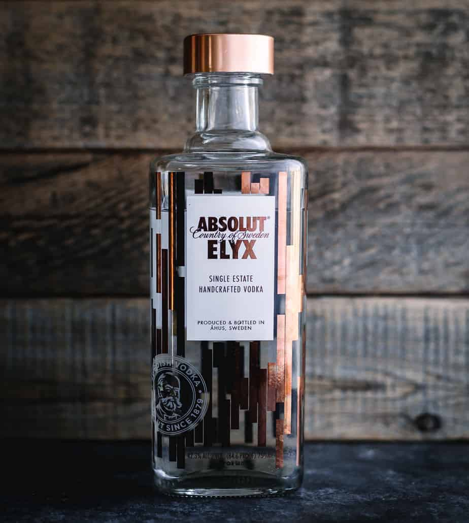 absolut elyx butterfly punch drink recipe