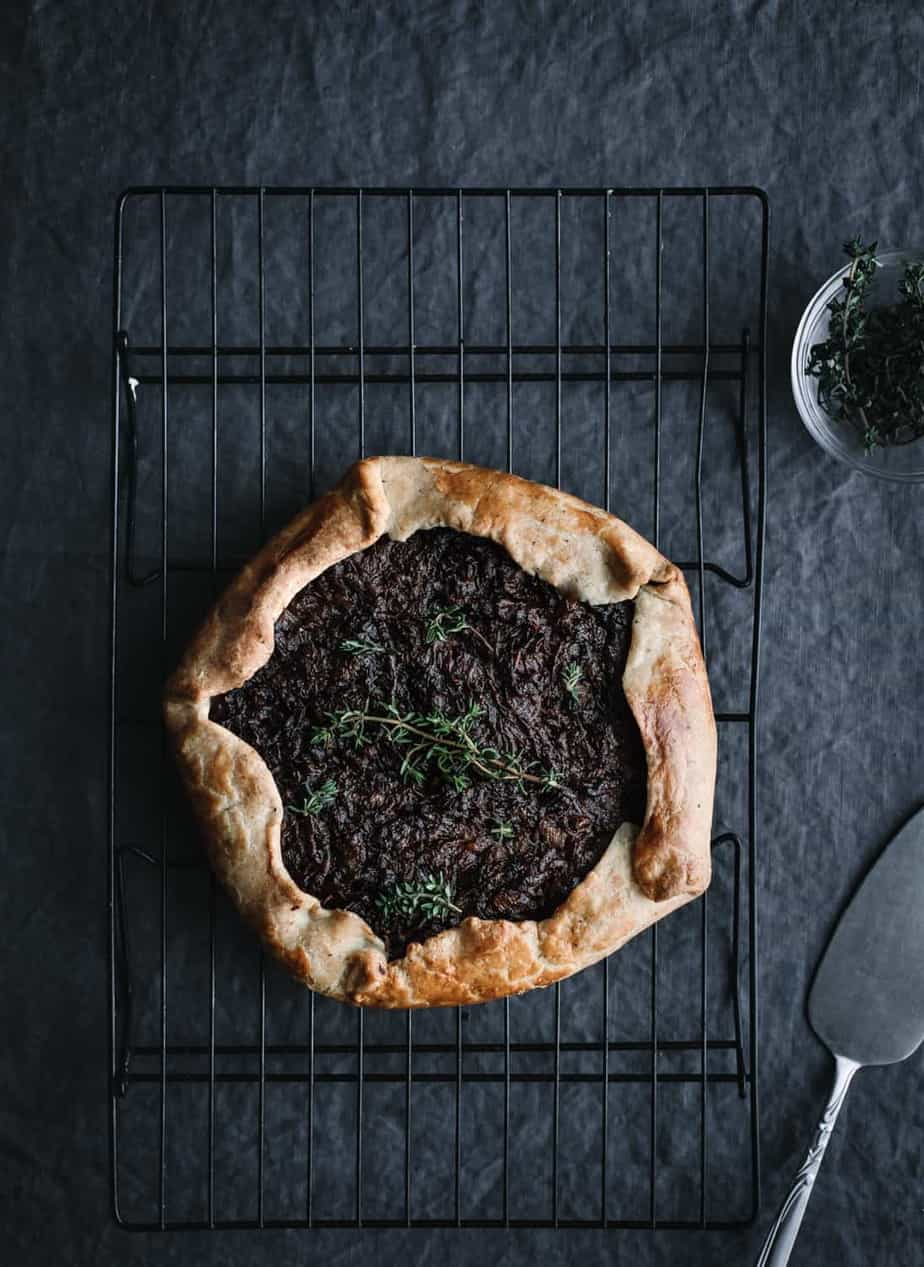 Made in France, Made with Love, Caramelized Onion Galette