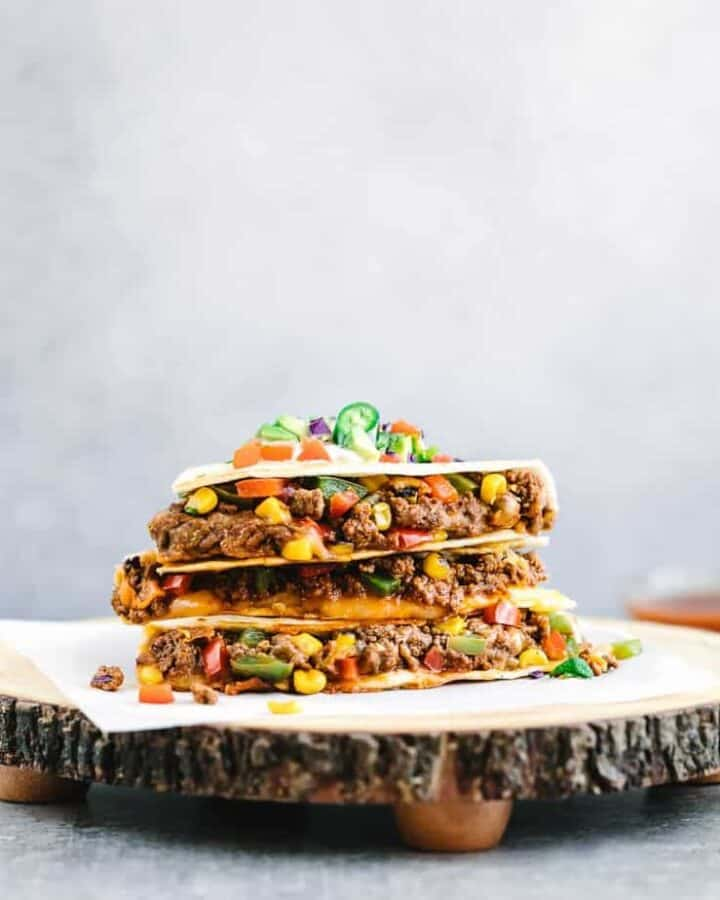 ground-beef-quesadilla