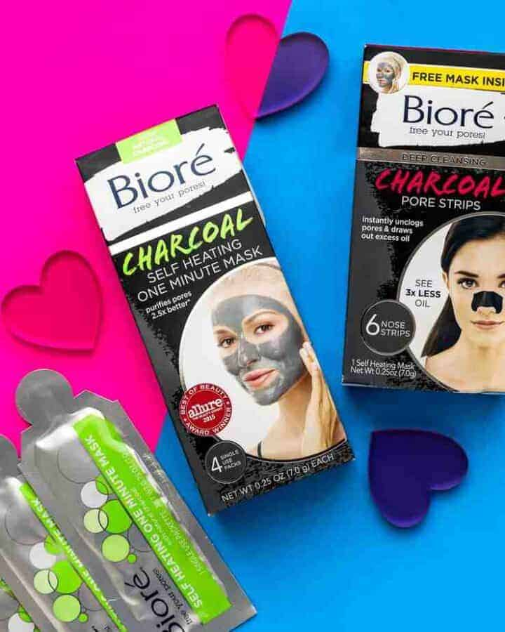 How to Get Rid of Blackheads Fast with Bioré Self Heating One Minute Mask and Deep Cleansing Charcoal Pore Strips