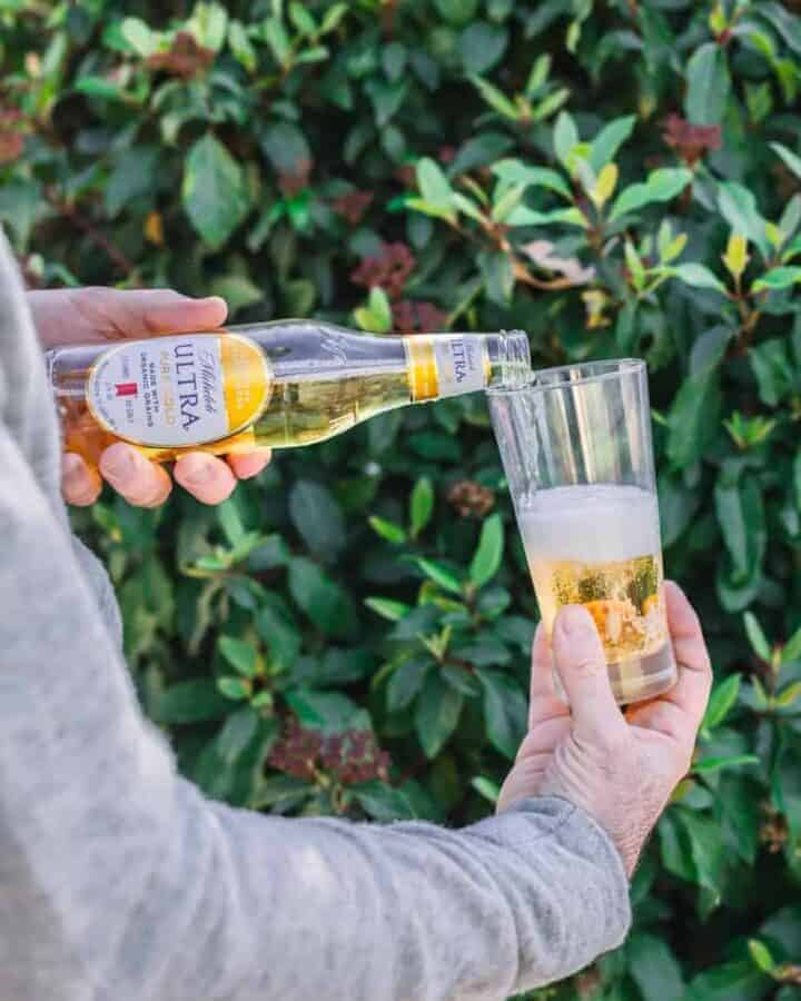 Michelob ULTRA Pure Gold - Made with Organic Grains and Free of Artificial Colors or Flavorings