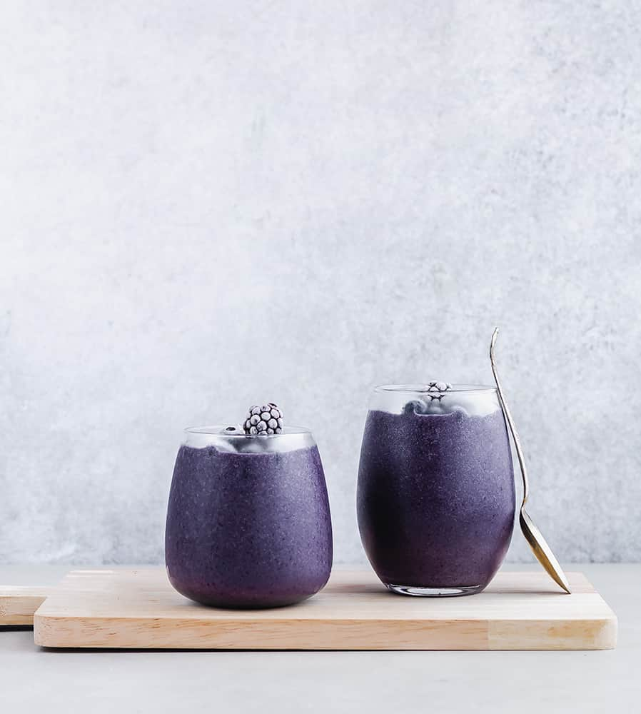 Cauliflower Berry Smoothie with Keto Collagen