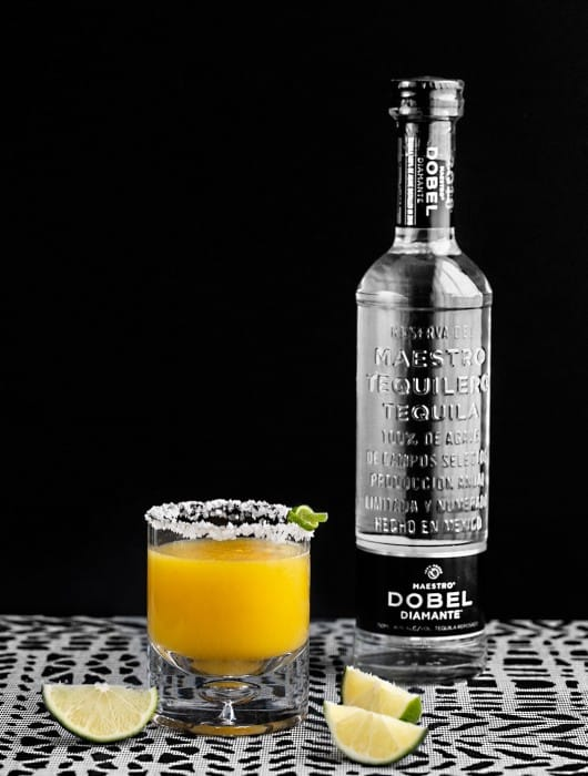 Mango Pineapple Cocktail with Tequila