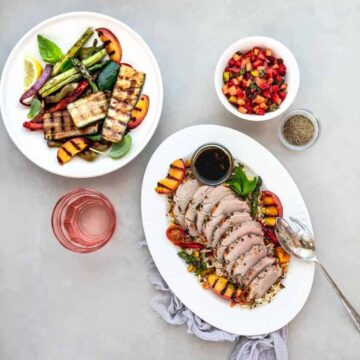 Pork Tenderloin with Strawberry Apple Salsa Recipe