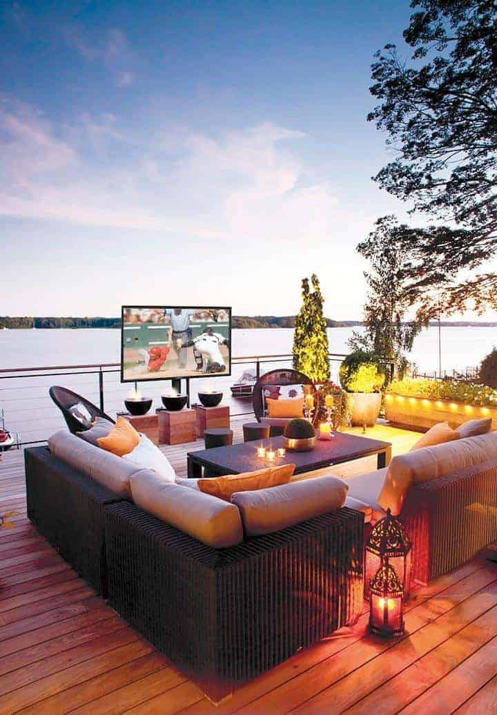 "Create an Outdoor Home Theater with SunBriteTV - Veranda Series - 55"" Class LED"