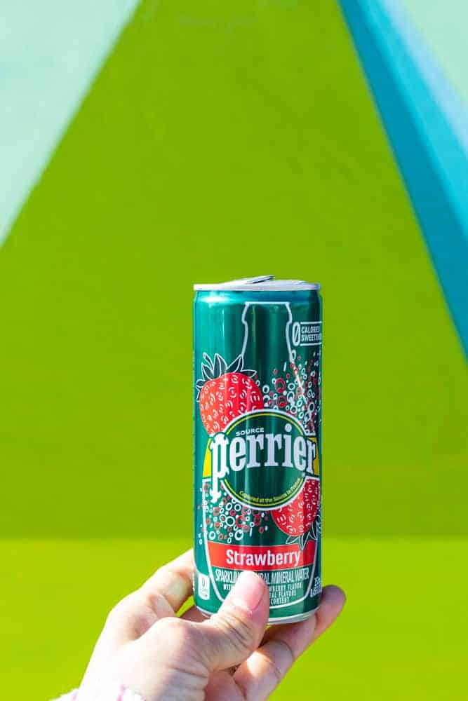 Strawberry Smash Mocktail - Find Your Flavor Inspiration with Perrier!