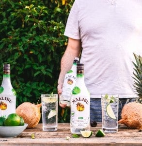 New Malibu Lime - the Perfect Bottle for your Summer Party