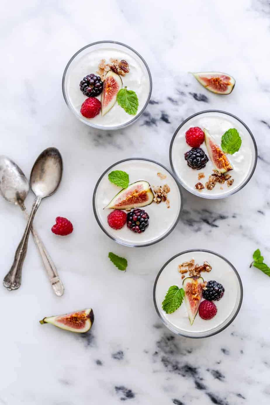 Chai Spiced Granola and Yogurt