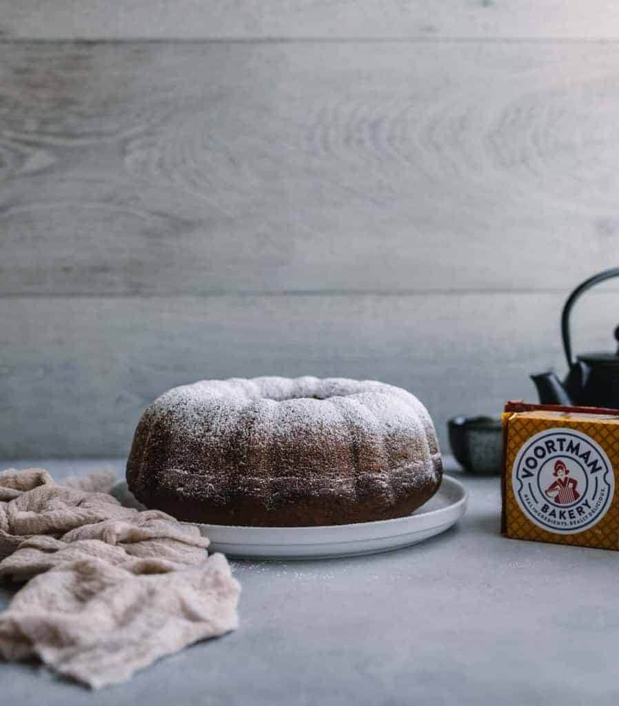 Pumpkin Spice Bundt Cake with Pecans