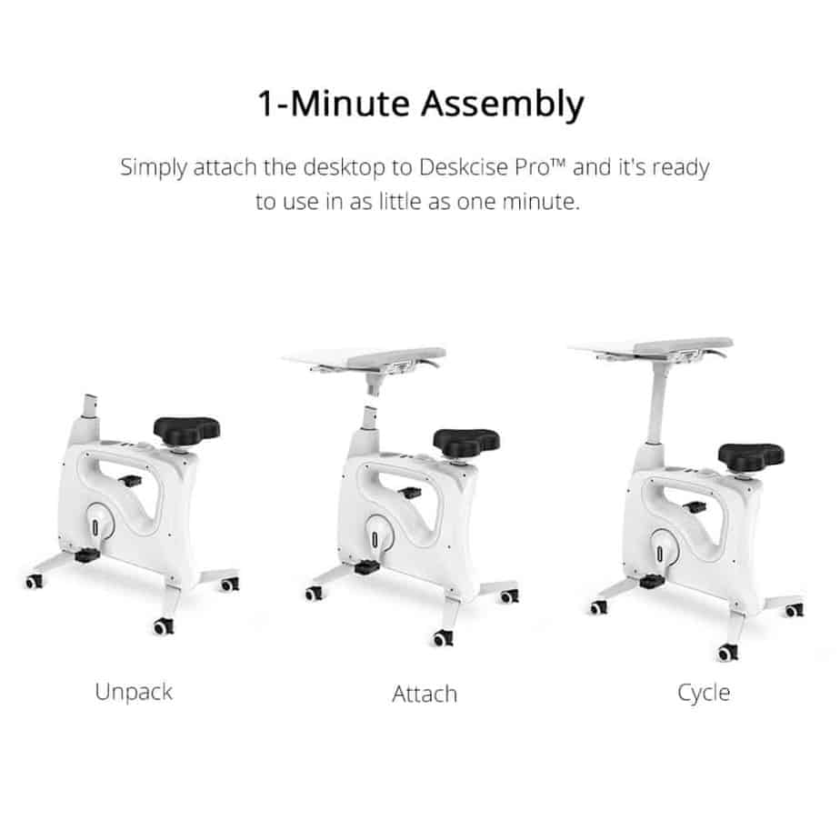 FlexiSpot Deskcise ProTM V9 Desk Bike