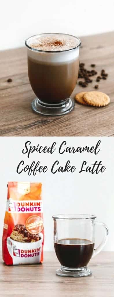 Dunkin' Donuts® Spiced Caramel Coffee Cake Latte