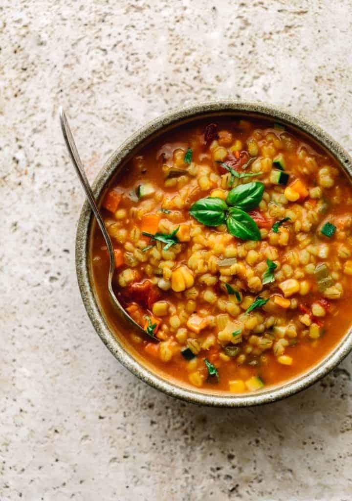 Instant Pot Barley Soup