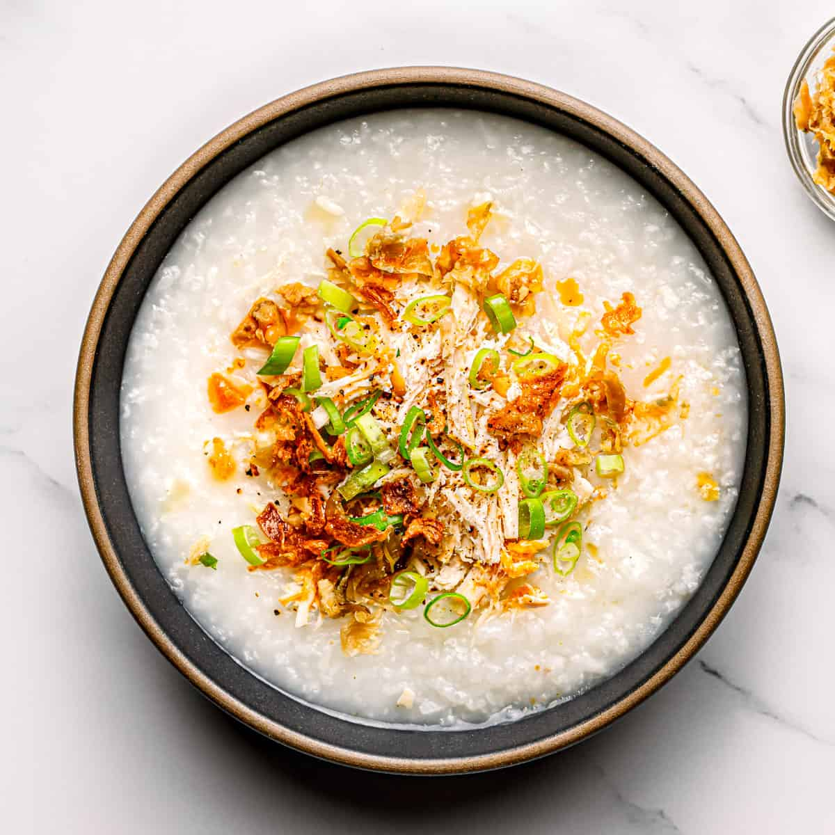 Pressure Cooker Chicken Congee