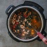 Instant Pot Italian Sausage Kale Soup