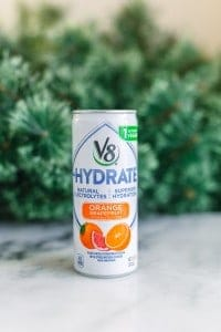 V8 +HYDRATE® Gets Me Through the Holidays!