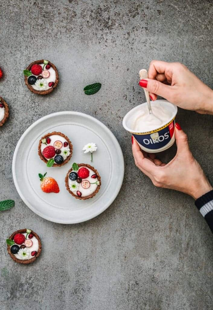 No-Baked Yogurt Tart