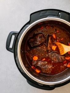 Instant Pot Boneless Beef Short Ribs