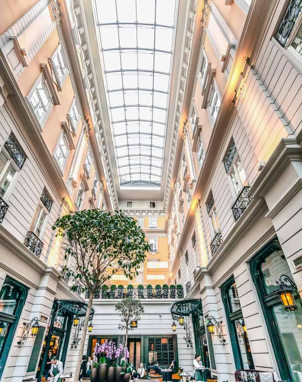 corinthia hotel Budapest restaurant buffet