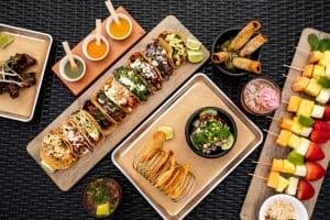 Loews Coronado Cabana and La Cantina Food