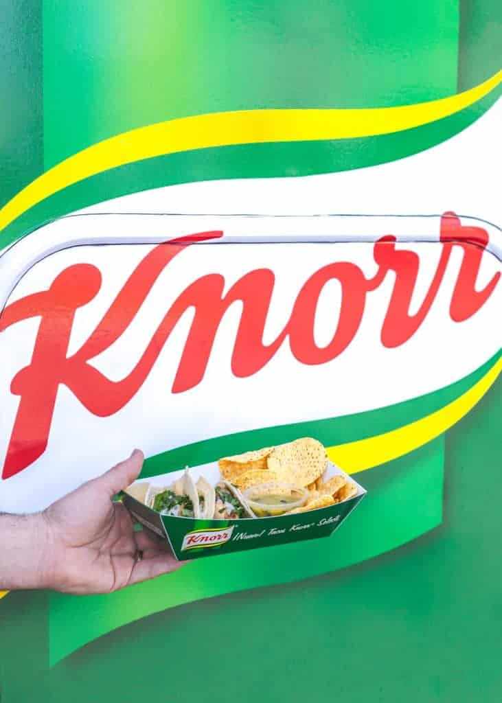 Free Taco Truck Event with Knorr Selects