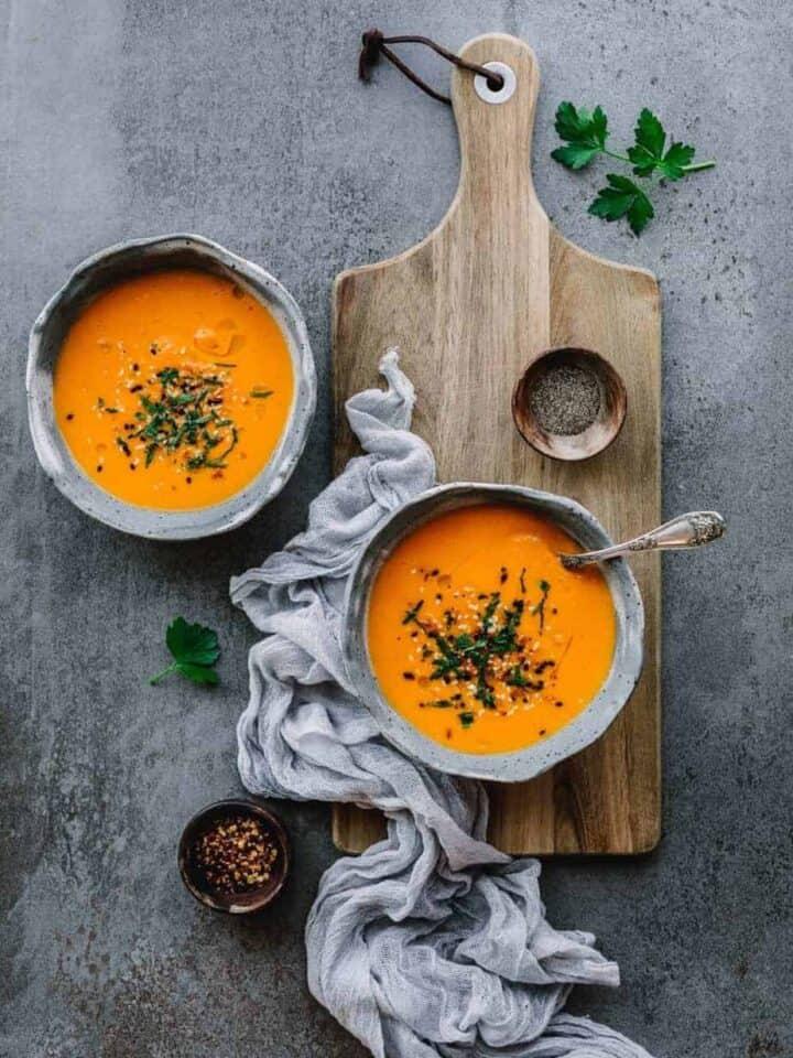 instant pot root vegetable soup