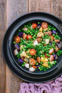 Potato Salad with Anchovy Vinaigrette