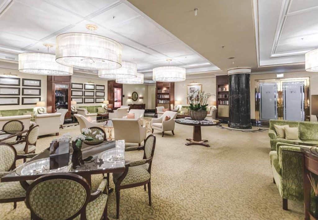 Capella Breidenbacher Hof Lobby Lounge