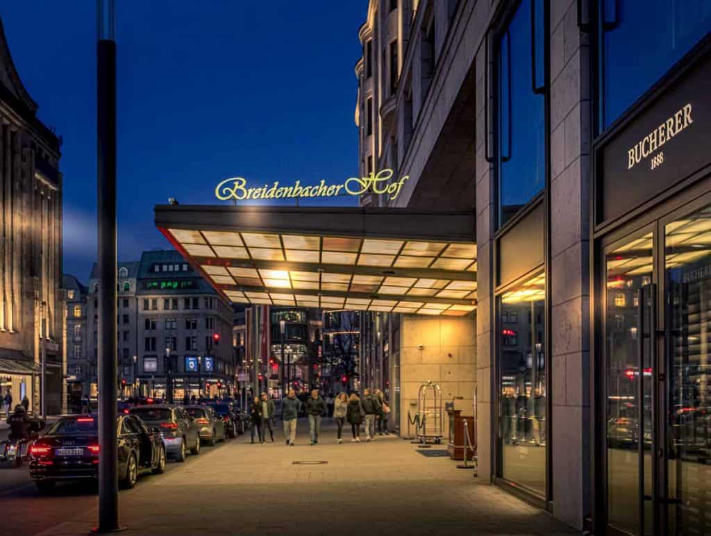 The Capella Breidenbacher Hof Hotel - A 5 Star Gem in delightful Düsseldorf